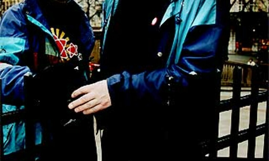 TIL ANGREP: Erling Folkvord og Torstein Dahle i partiet Rødt legger fram undersøkelse som hevder at det er flertall mot Norske soldater i Afghanistan. Foto: Jacques Hvistendahl / Dagbladet