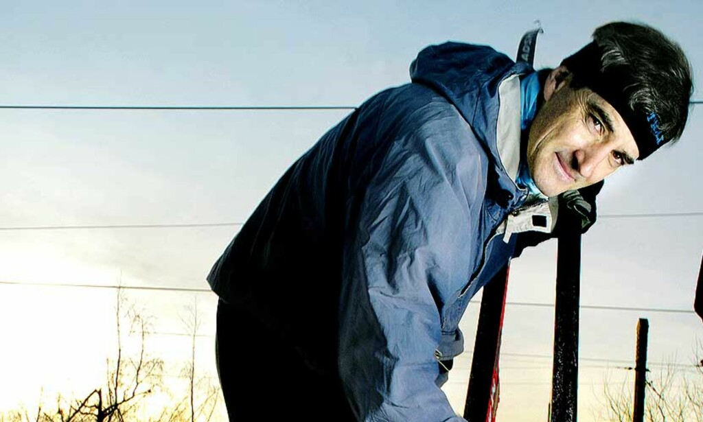 UTENDØRSMINISTER: - Jeg tenker rett og slett ganske godt på ski, sier Jonas Gahr Støre. Foto: NINA RUUD
