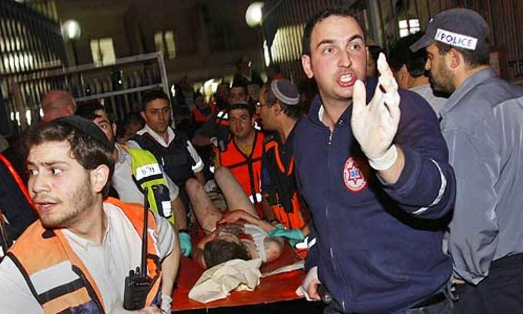 image: - Minst sju drept i skyting på skole i Jerusalem