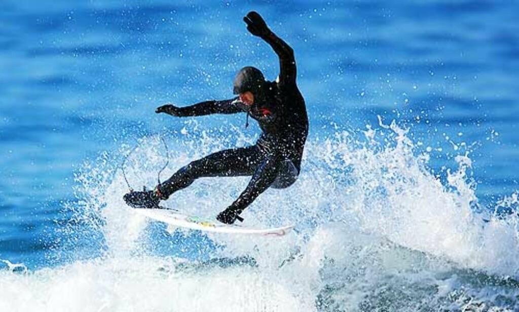 image: Her surfer verdensstjernene i Lofoten