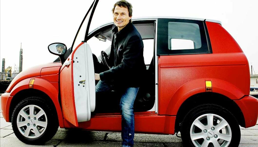 <b>Nye investorer:</b> Think har fått med seg et stort lag av pengesterke investorer. Petter Stordalen har stor tro på den lille elbilen, og har bestilt to til seg selv og 20 til bruk for gjestene på Choice-hotellene i Oslo.
