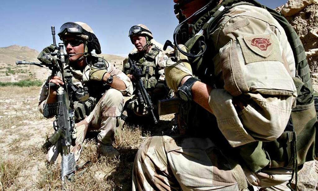 GRØNN PROFIL: Forsvaret ville utstyre soldatene i Afghanistan med ubrukelige miljøammunisjon. Takket være gode rutiner blant mannskapet i Afghanistan, ble fadesen oppdaget før det var for seint. Arkivfoto: SCANPIX