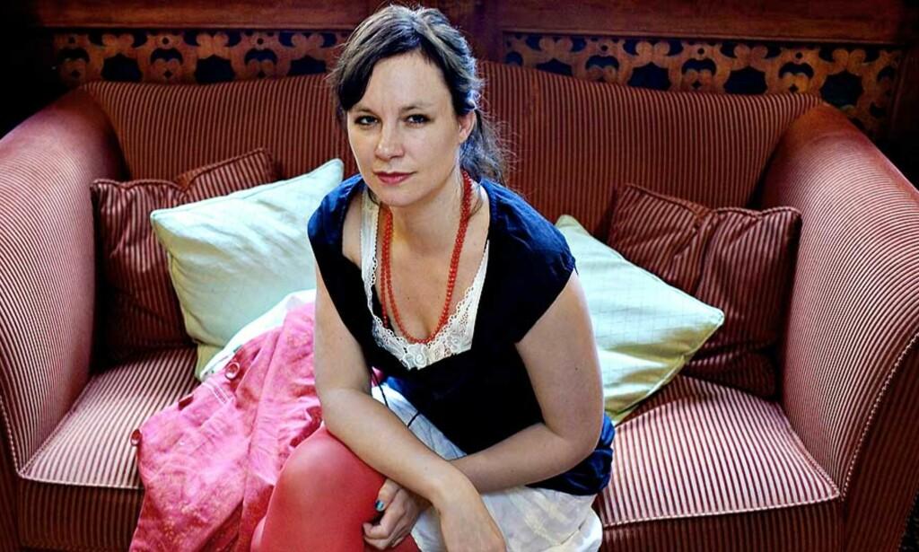 I OSLO: Sara Stridsberg, vinner av Nordisk Råds litteraturpris 2007, var i Oslo i går for å lansere den norske oversettelsen av «Drömfakulteten» - en fri fortelling om Valerie Solanas som utga SCUM- manifestet og skjøt Andy Warhol. Foto: LARS EIVIND BONES