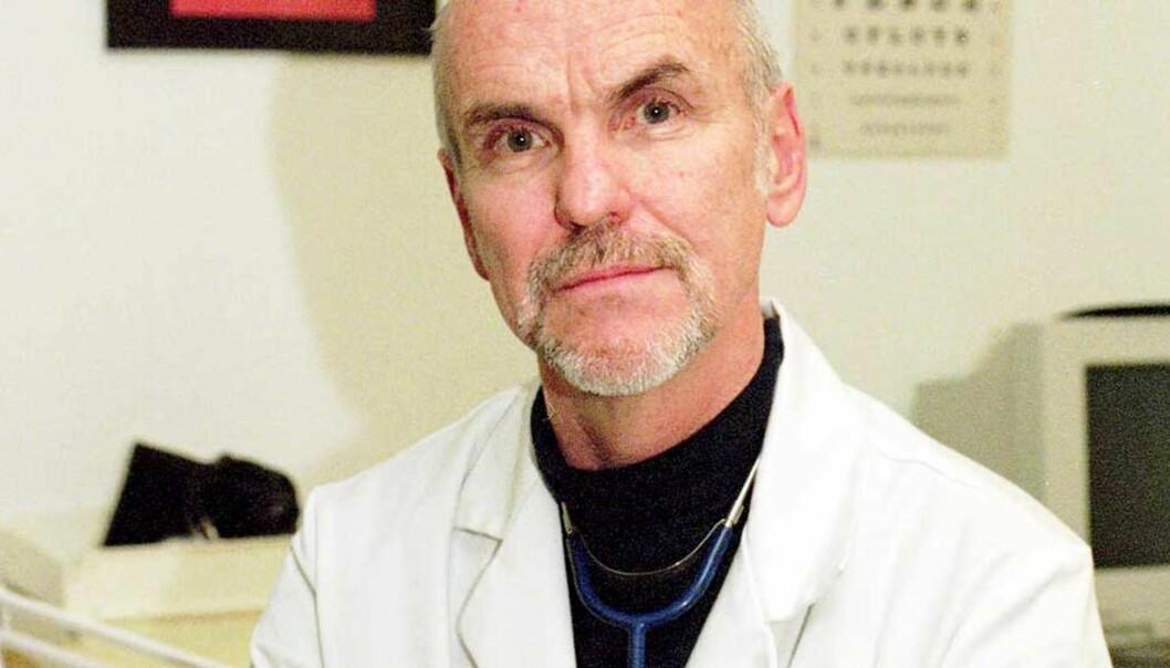<b>Doktor Ali:</b> To timer hver kveld jobber Trond Ali Linstad som lege i Grønlandsgettoen i Oslo. Foto: SCANPIX