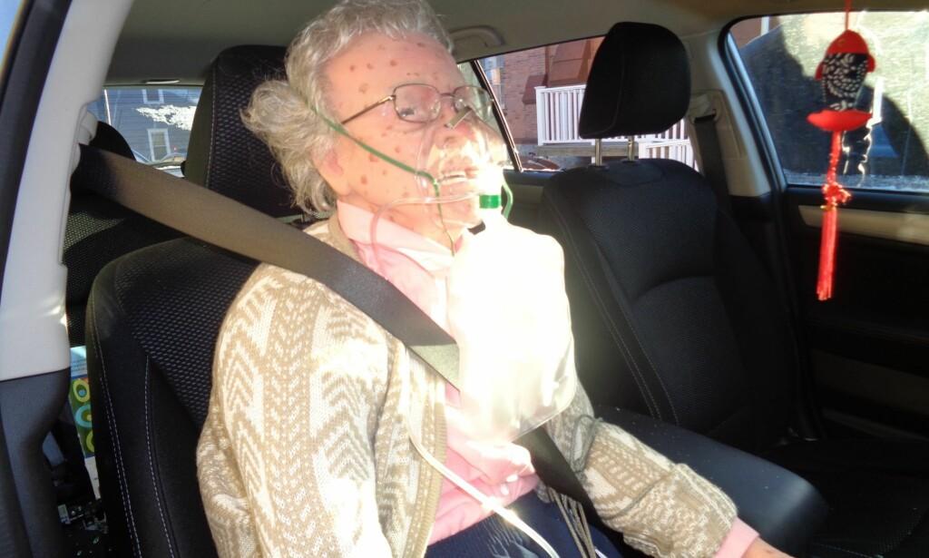 IKKE LEVENDE, MEN...: Den «døde kvinnen» viste seg å være en dokke. Foto: Hudson Police Department