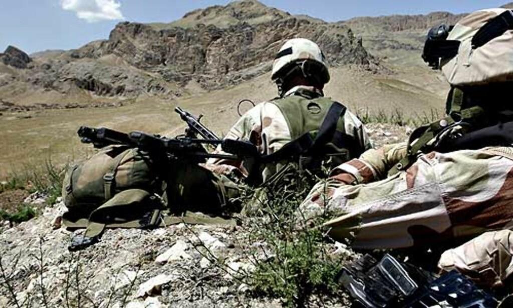 image: Forsvarstoppene inn til høring