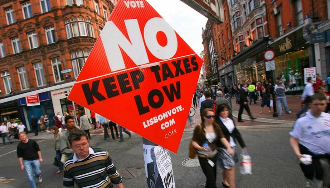 <strong><b>LIGGER AN TIL DØDT LØP:</strong></b> Politikere over hele EU biter negler foran morgendagens folkeavstemning i Irland. Et nei til Lisboatraktaten vil skape kaos innad i EU. Foto: Scanpix