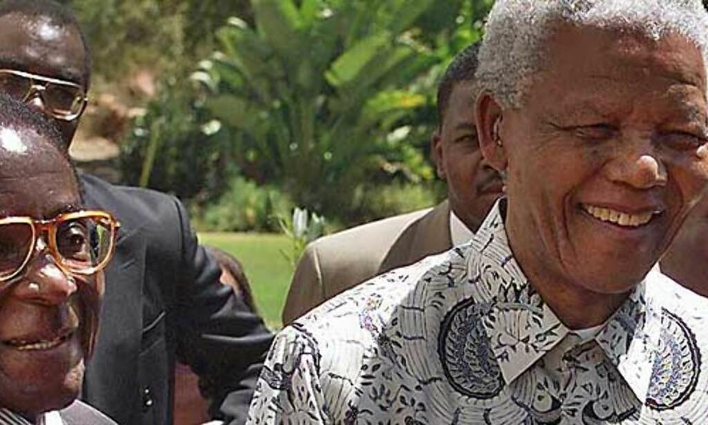 image: Vil ikke kritisere Mugabe