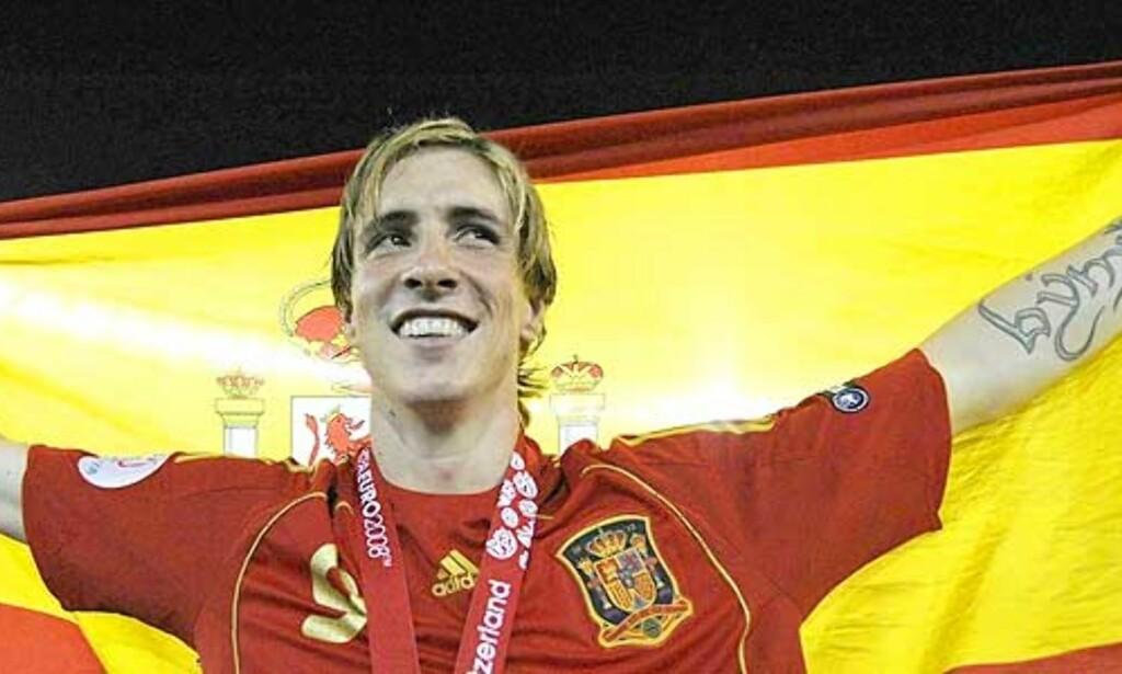 image: - Torres viste at han er «the man»