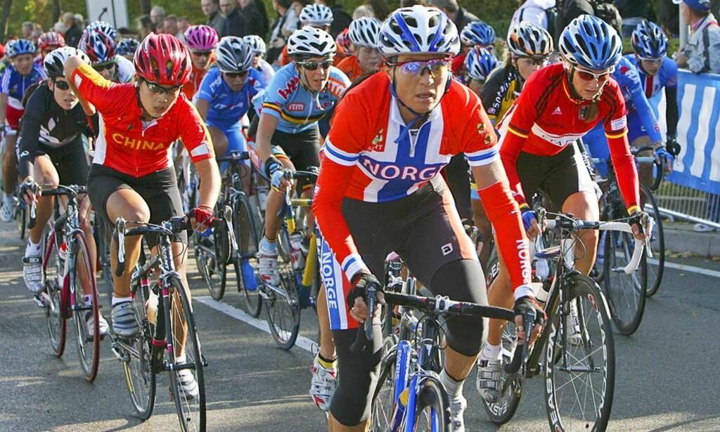 GLADBESKJED: Etter at det ble sådd tvil om OL-deltakelsen i helga, fikk Anita Valen de Vries i dag den gode nyheten om at det blir Beijing-tur likevel. Foto: HÅKON MOSVOLD LARSEN/SCANPIX