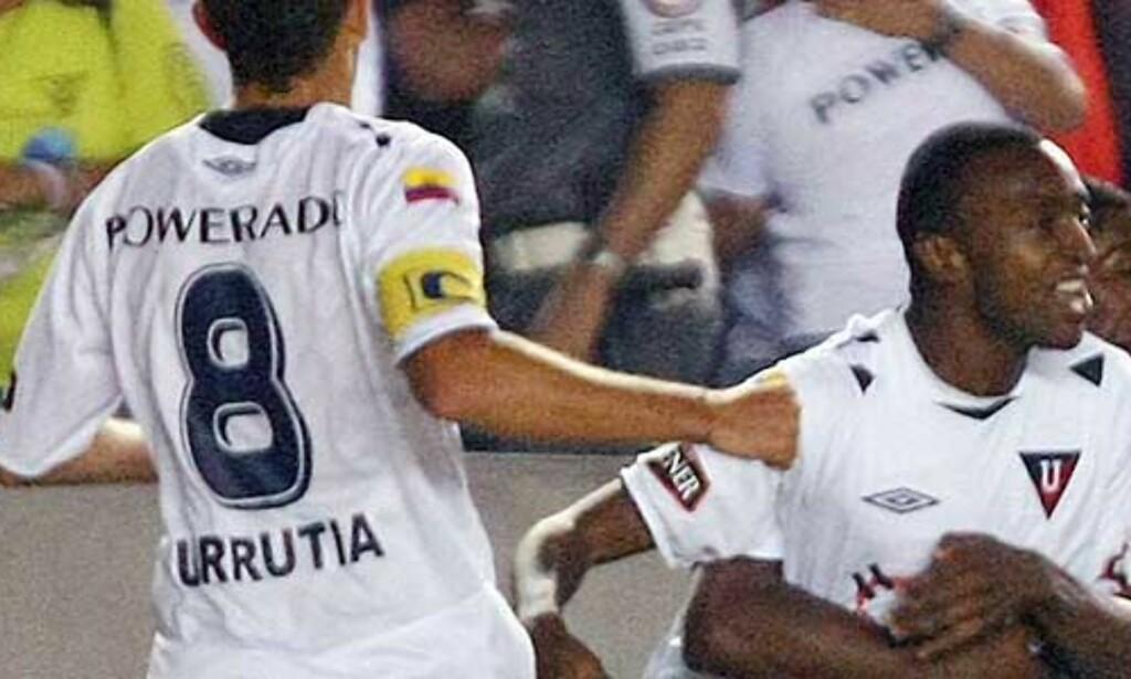 image: - En historisk tittel for Liga de Quito og Ecuador