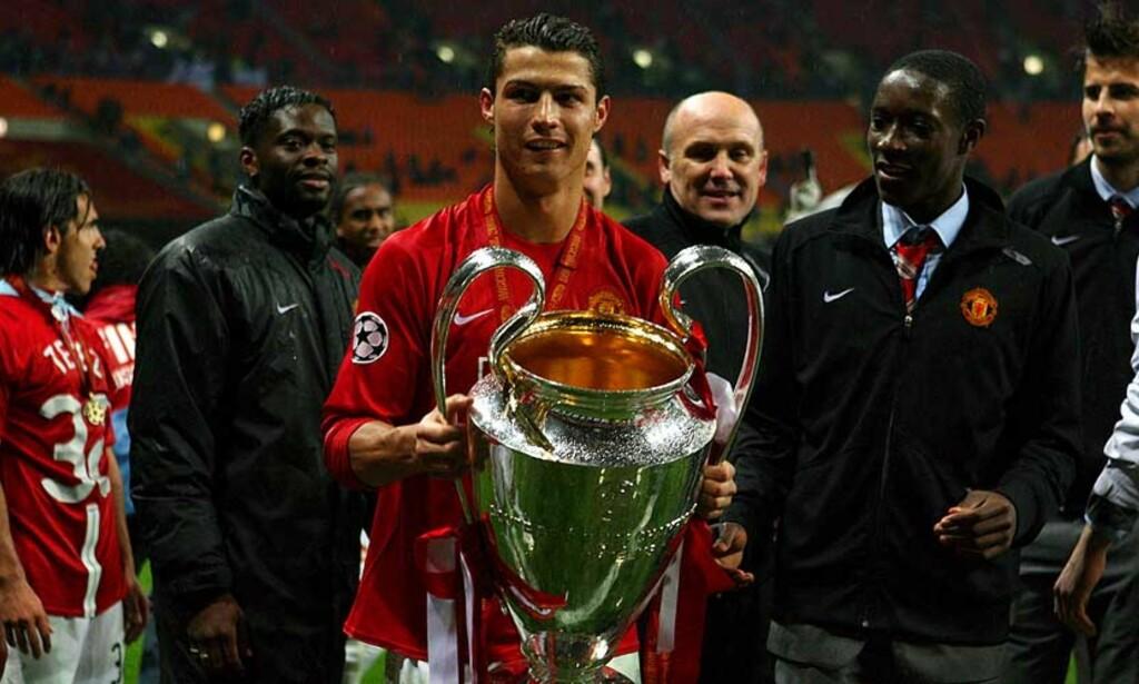 IKKE TIL REAL? Calderon tror ikke at Ronaldo vil hjelpe Real Madrid å vinne Champions League inneværende sesong. FOTO: SERGEI ILNIYSKI/ EPA
