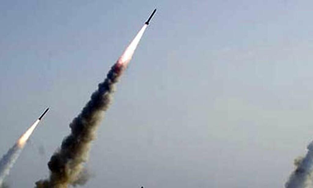 image: Nye iranske missiltester