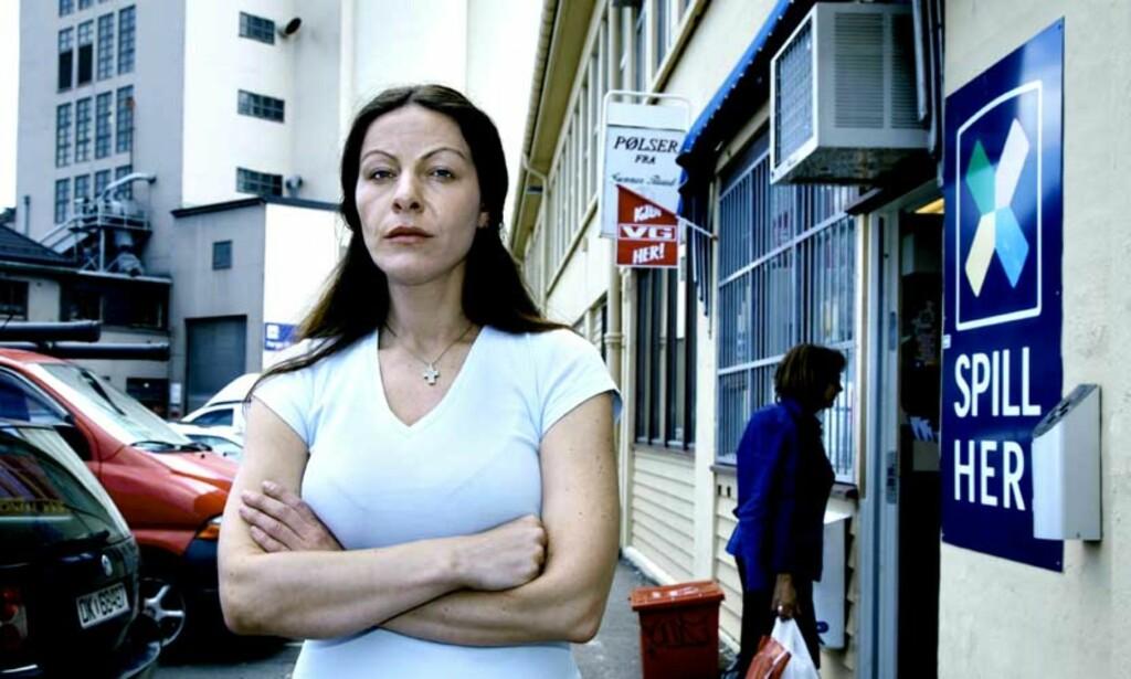 SKUFFET: Violeta Kolozova er skuffet over avslaget på arbeidstillatelse. Hun ønsker ikke å forlate Norge og jobben på Vippetangen. Foto: Steinar Buholm, Dagbladet