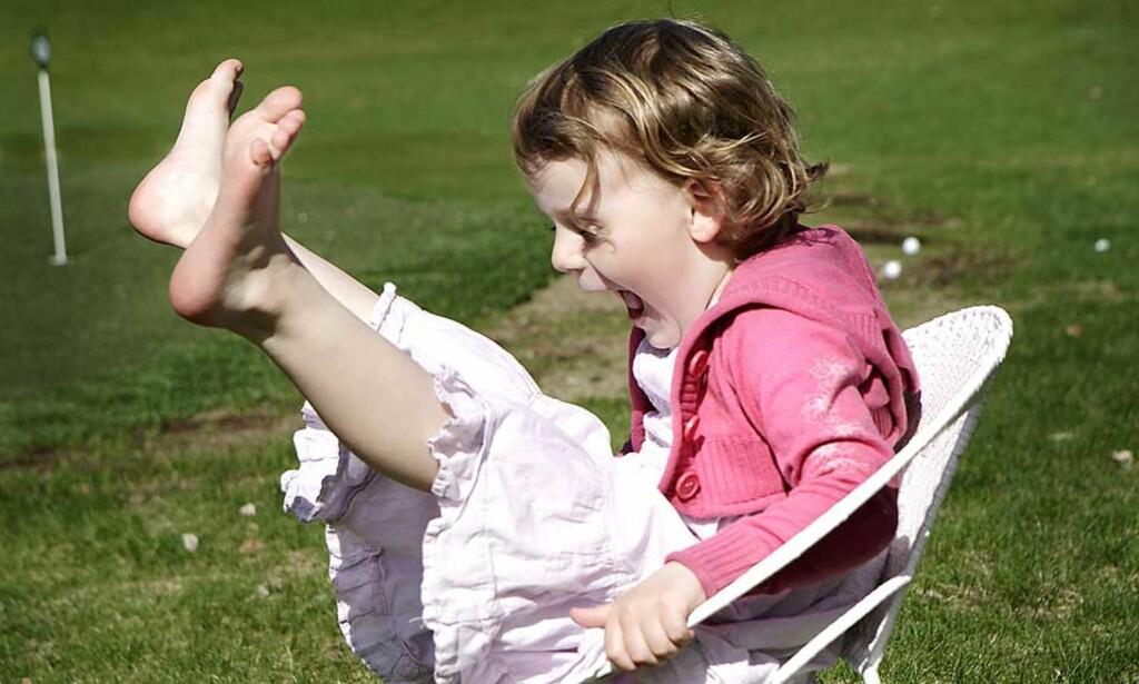 KAN FÅ FEM UKER EKSTRA: Får Sp det som de vil, får alle barn fem ukers ekstra ferie i året. Illustrasjonsfoto: METTE RANDEM