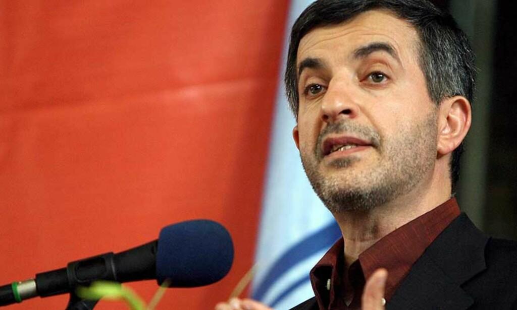 ISRAEL-VENN: Esfandiar Rahim-Mashaei, en av Irans visepresidenter, hevder landet ikke har noen fiender i verden. Foto: EPA