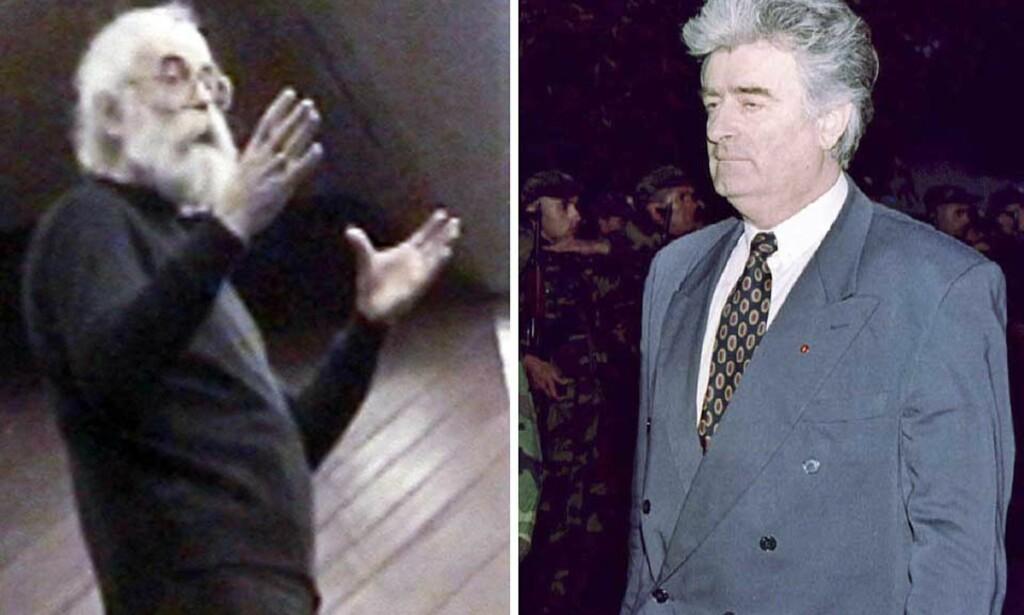 MED HVITT SKJEGG OG HEMMELIG IDENTITET GJEMTE KARADZIC SEG I BEOGRAD: Men han kunne vanskelig ha klart det på egen hånd. Foto: REUTERS/SCANPIX