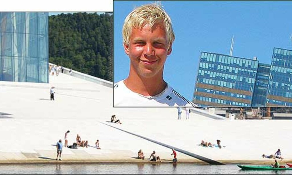 image: Svein og Olav padlet fra Stavanger til Oslo