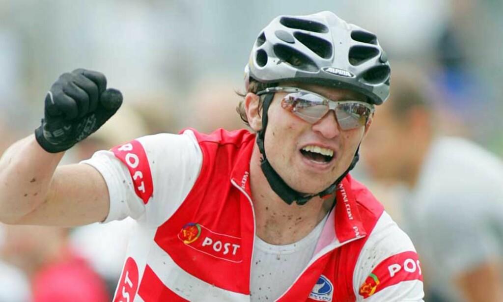 - TATT: Ifølge dansk media er det Peter Riis Andersen som er tatt for EPO-bruk. Mountainbike-rytteren ble nylig dansk mester. Foto: HÅKON MOSVOLD LARSEN/SCANPIX