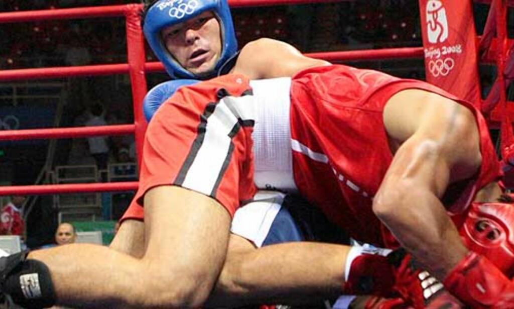 image: OL-bokser disket etter «Tyson-biting»