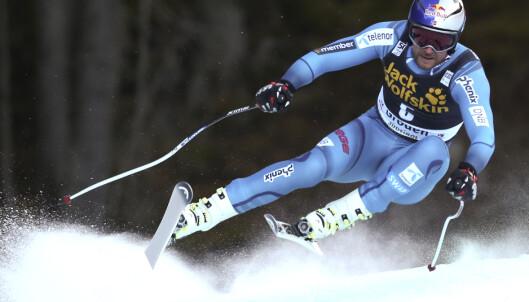 I FORM: Aksel Lund Svindal var skuffet etter å ha kjørt ut i gårsdagens Super-G, men i dag viste han virkelig muskler i Val Gardena. Foto: REUTERS / Stefano Rellandini / NTB Scanpix