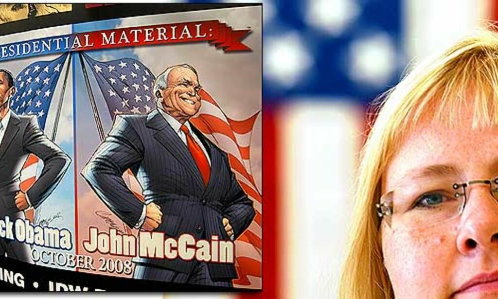 image: Erna frir til både Obama og McCain
