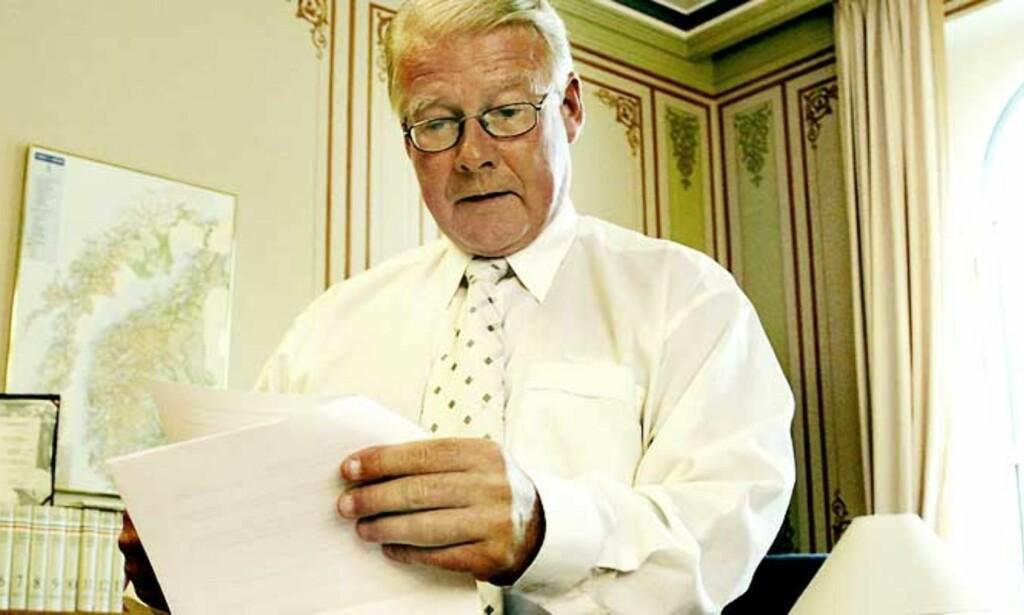 IKKE UNORMALT: Carl I. Hagen mener Riksrevisjonen har fortolket regelverket annerledes enn Stortinget og administrasjonen. Foto: Jacques Hvistendahl/Dagbladet