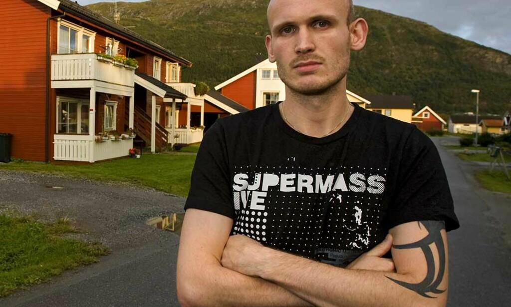 MENER DOMMEN ER FOR MILD: 24 år gamle Kim Hansen mener seks års fengsel er en for mild dom for drapet på svogeren. Foto: Hans Petter Sørensen