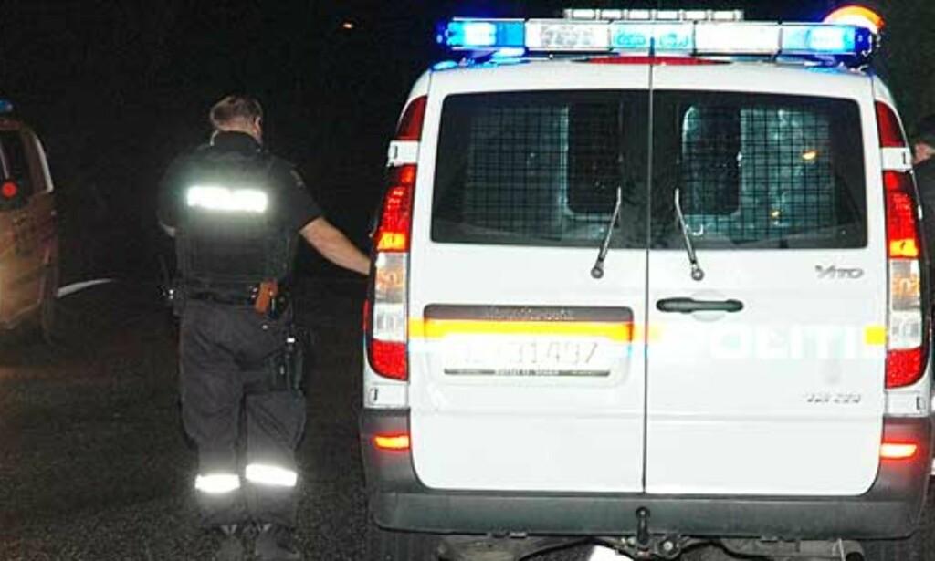 image: Bevæpnet mann ranet bensinstasjon i Tønsberg