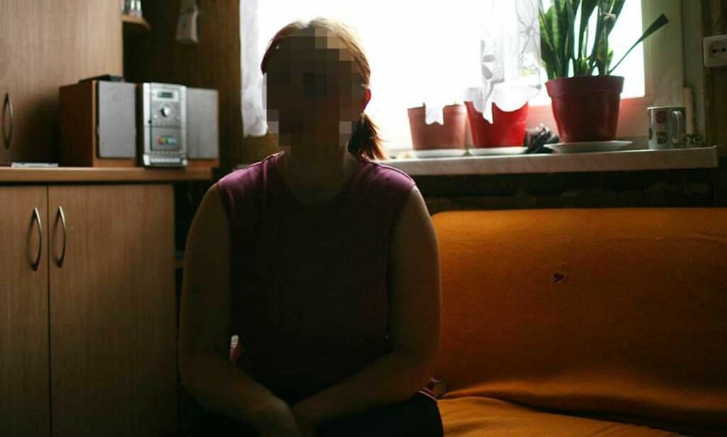 HOLDT FANGET I SEKS ÅR: Alice (21) rømte i forrige uke. Foto: AGNIESZKA SADOWSKA/AGENCJA GAZETA