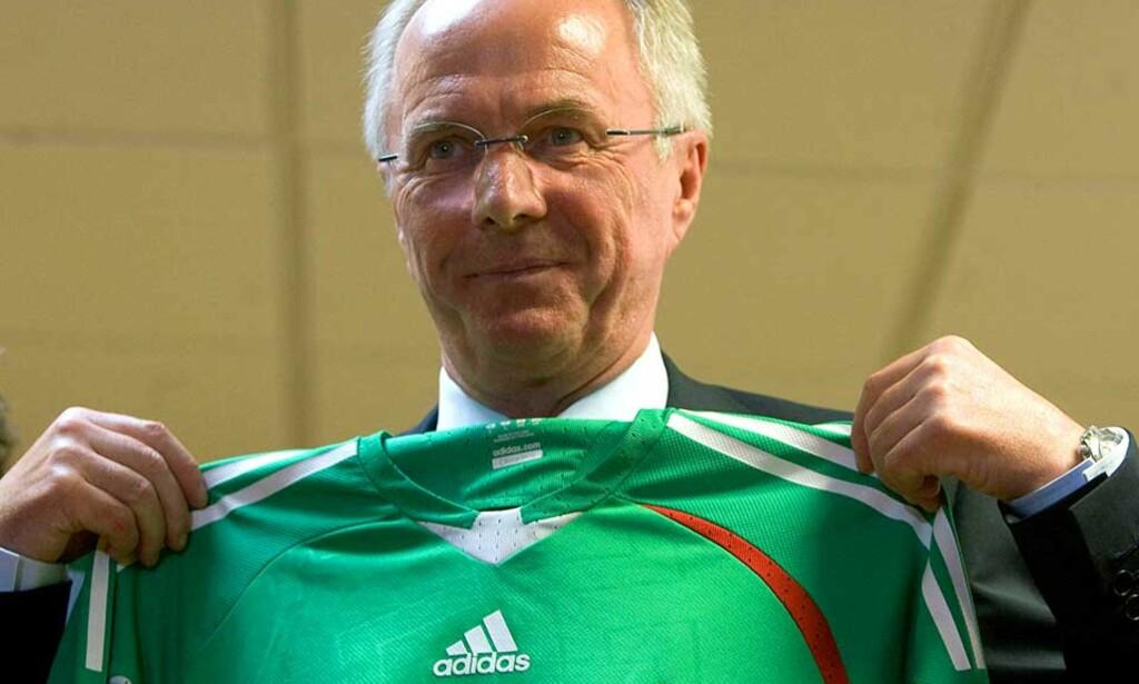 GOD START: Svennis har fått en kjempestart på sin karriere som sjef for Mexico. Tre seire av tre mulige er fasiten. Foto: Alfredo Estrella, AFP/SCANPIX