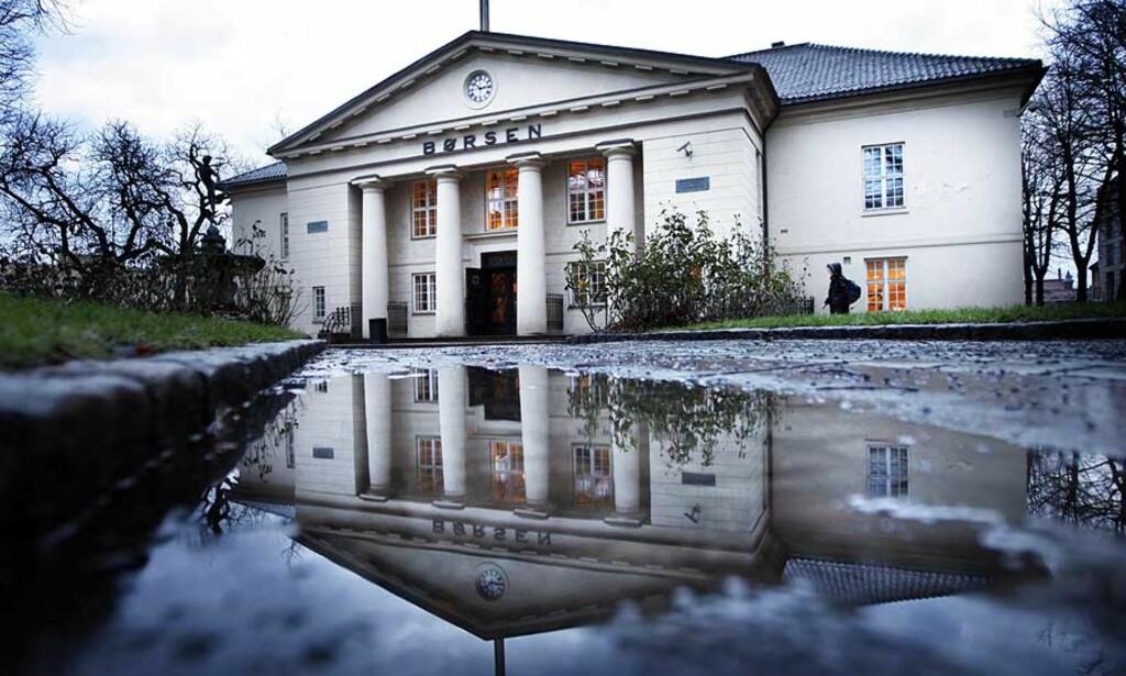 DYR DAG: 70 milliarder kroner rant ut av Oslo Børs i dag. Regningen får du i form av renteøkninger. Foto: SCANPIX