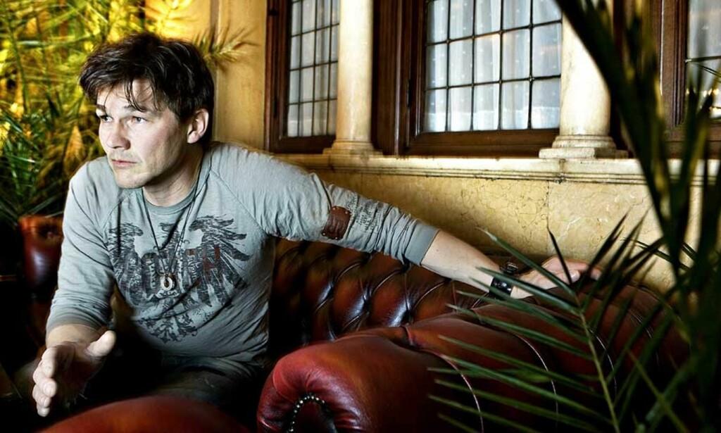 SOLOSLUTT: Morten Harket legger soloprosjektet på is for å satse på a-ha. Det gjør han lurt i, mener P3s musikksjef Håkon Moslet. Foto: NINA HANSEN