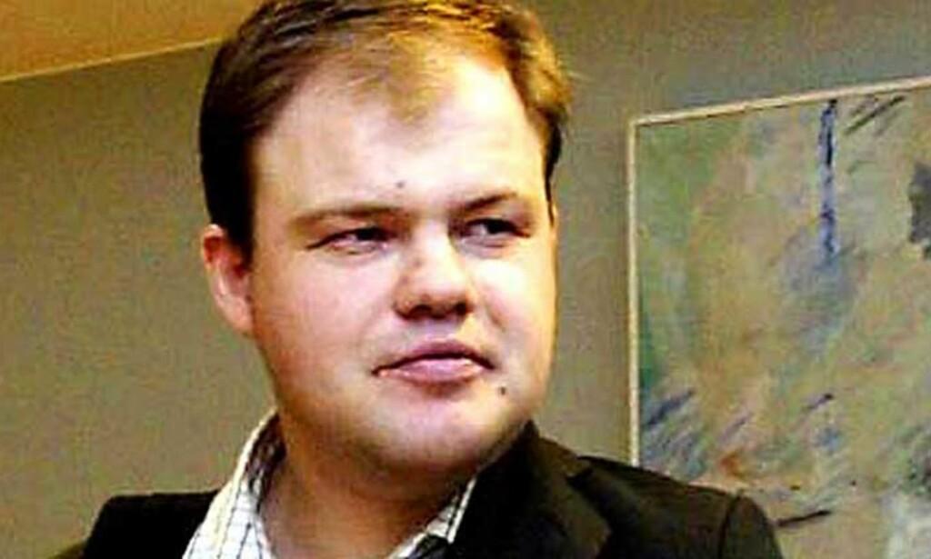 PÅ INTERNETTSPILL: Bedragerisiktet Bjarte Baasland bekrefter i dag å ha brukt 60 millioner kroner på internettspill. Foto: Rolf Aagaard