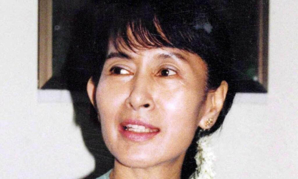 SYK: Aung San Suu Kyi (63) har sittet i husarrest mesteparten av de siste 19 åra. Foto: EPA/SCANPIX
