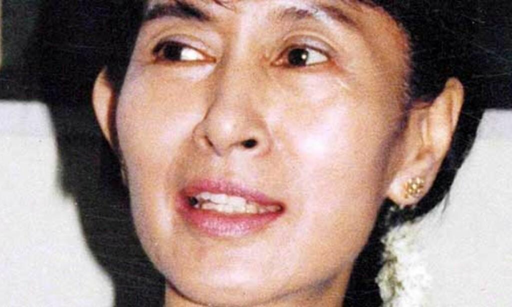 image: Aung San Suu Kyi får intravenøs næring