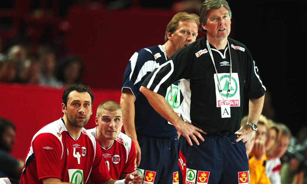 BEKYMRET: Gunnar Pettersen, avtroppende landslagssjef for herrenes håndballandslag, er bekymret over at håndballforbundet ennå ikke har funnet hans erstatter.