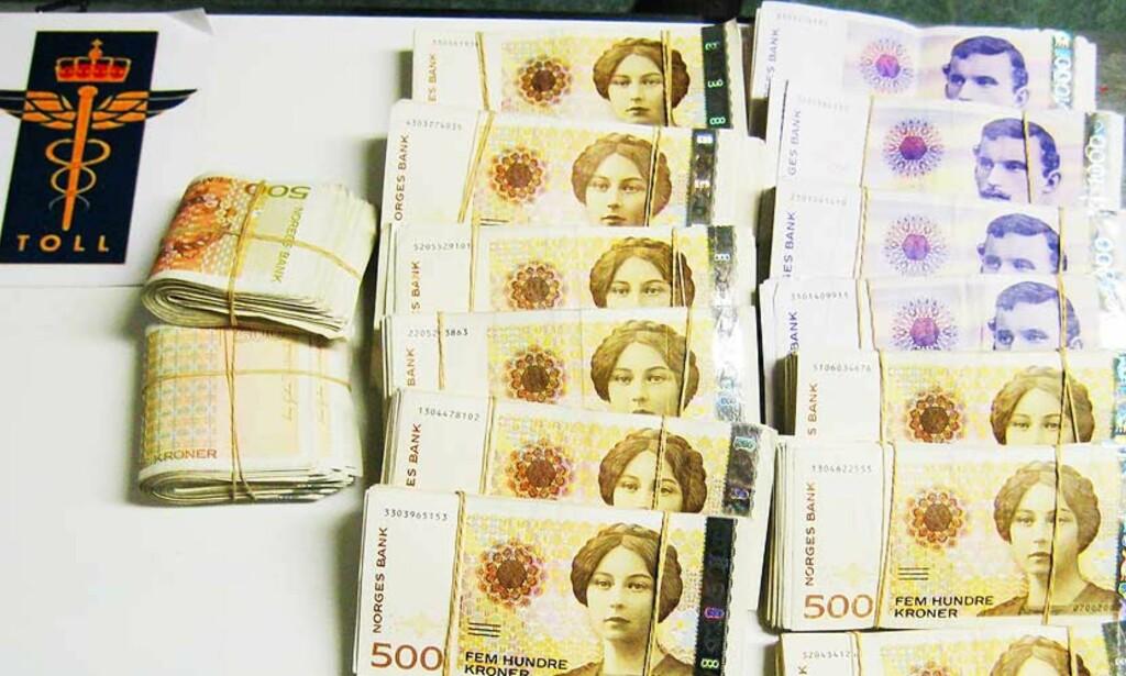 image: Norske tollere beslagla to millioner på en uke