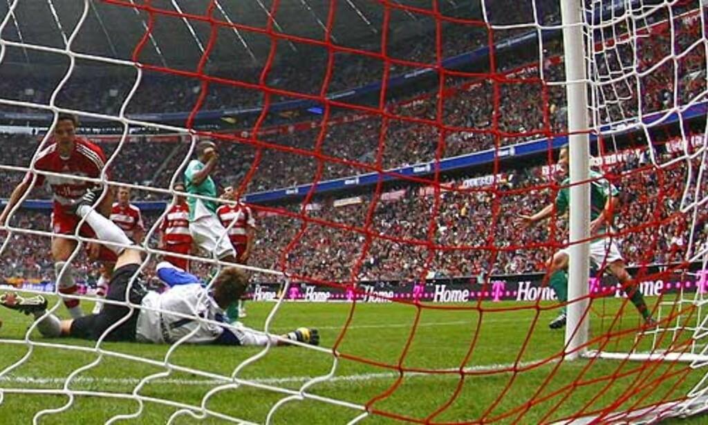 image: Bayern fikk fem i sekken av Werder