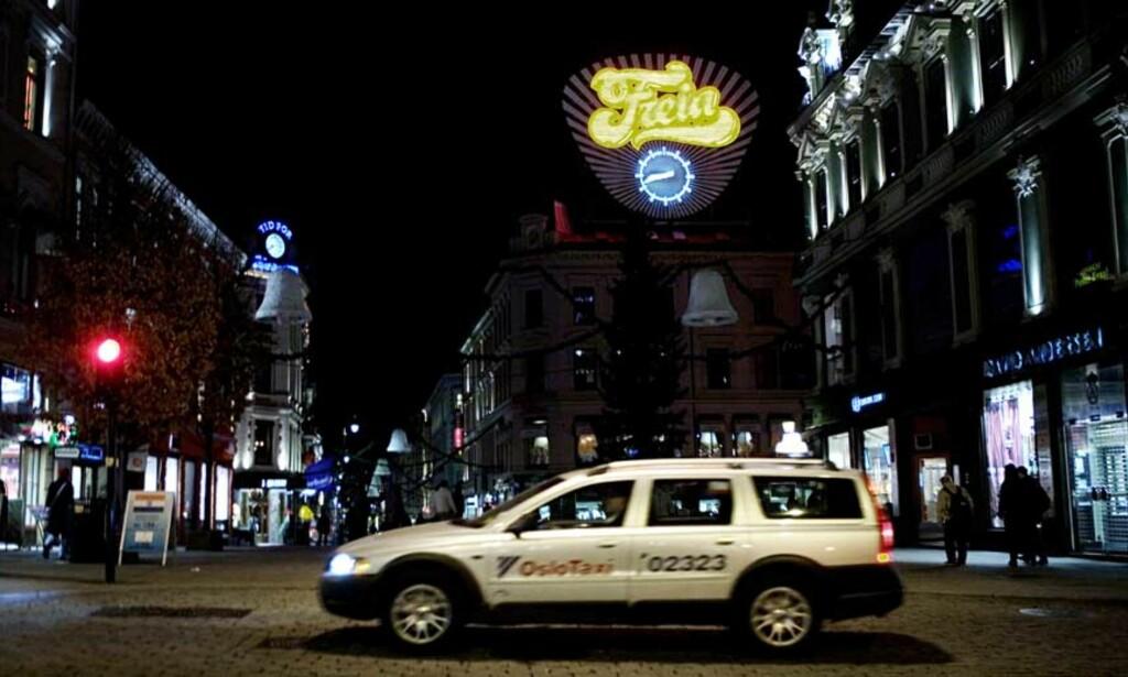 OVERVÅKET: Drosjesjåførens spesielle praksis med å avlytte passasjerene sine pågikk i flere år. Foto: Dagbladet