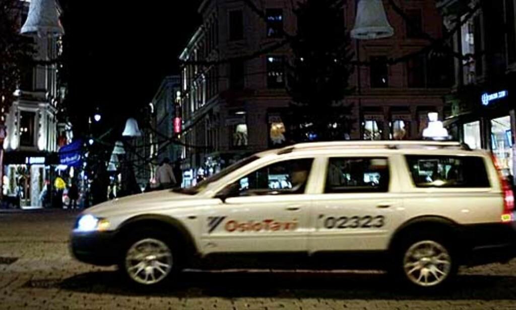 image: Passasjerer avlyttet i taxi