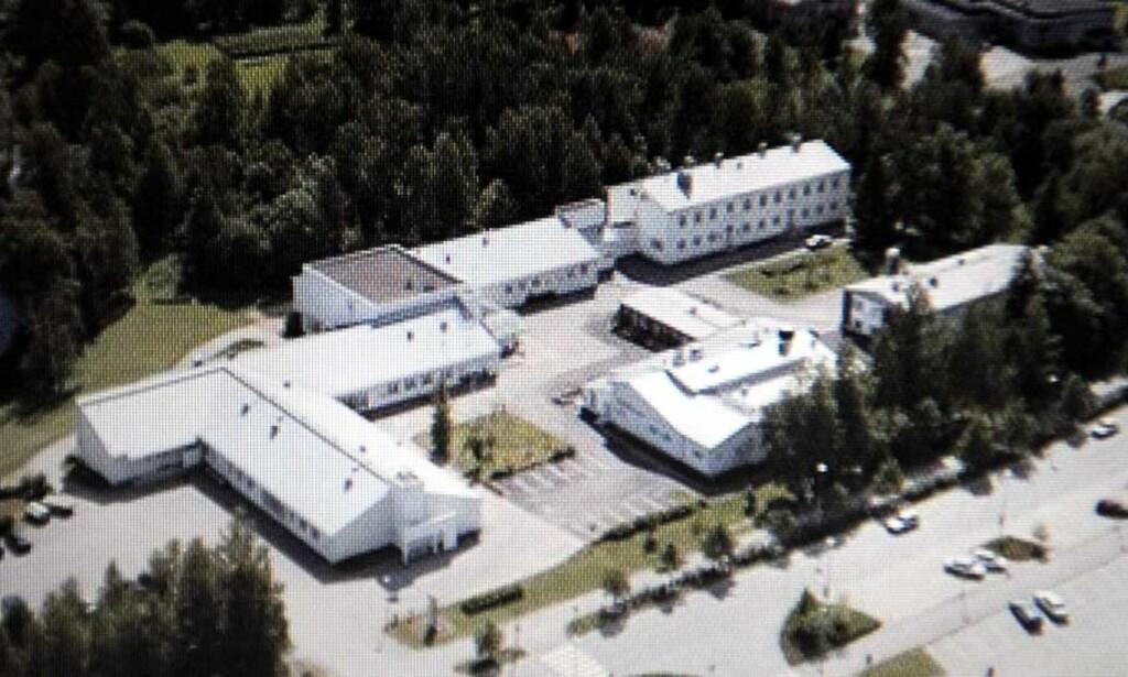 KRISEOMRÅDE:  Det var 200 elever på yrkesskolen i Kauhajoki da den maskerte og mørkkledde mannen dukket opp med våpen i formiddag. Arkivfoto: SCANPIX/LEHTIKUVA.