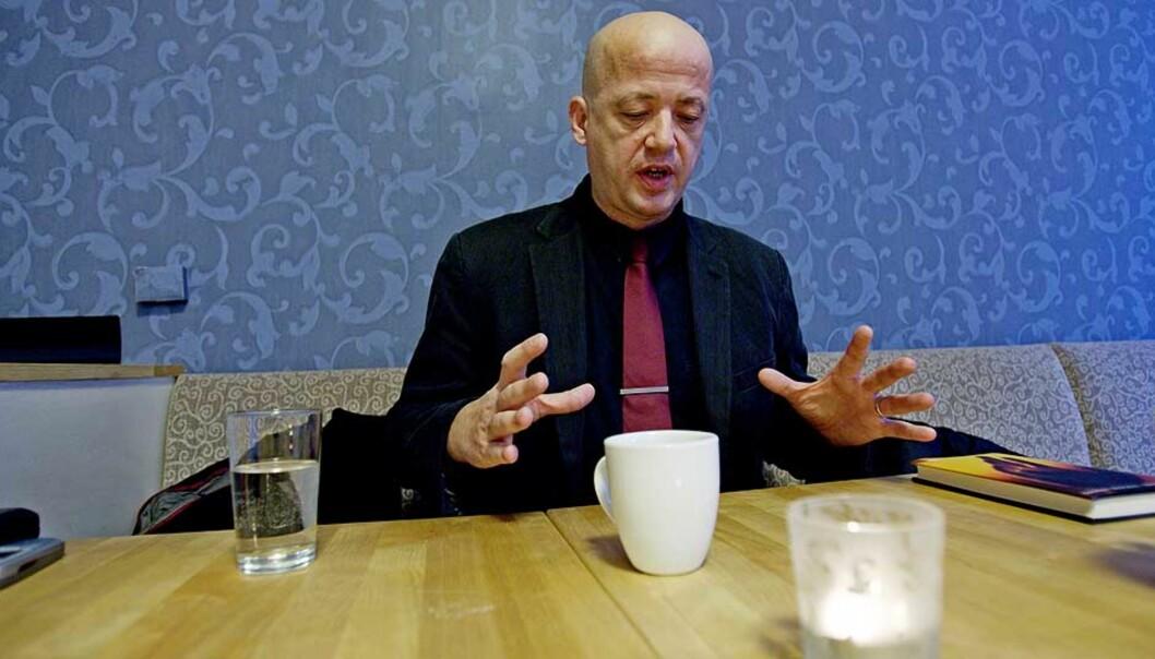 <b>GJENNOMBRUDD?</b> Vidar Sundstøl er ute med sin fjerde roman. Dagbladets anmelder mener at den er hans beste hittil. Foto: SCANPIX
