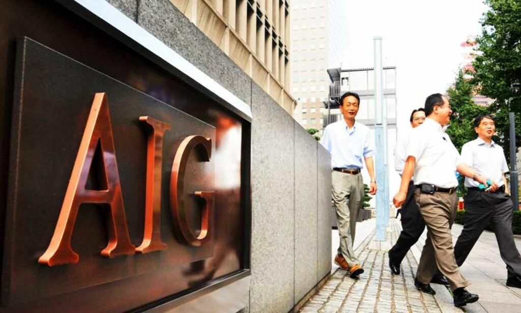 image: AIG-topper brukte 2,7 millioner på spa