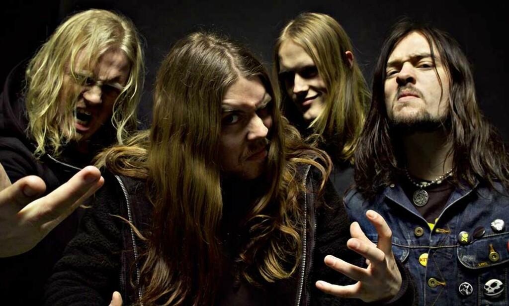 OPPLØST: Interne stridigheter er grunnen til at Stonegard-medlemmene Erlend, Torgrim, Håvard og Ronny nå går hver til sitt. Foto: SEBASTIAN LUDVIGSEN