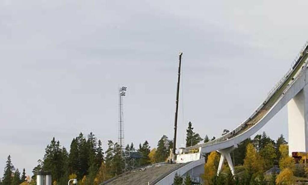 image: Slik rives Holmenkollen