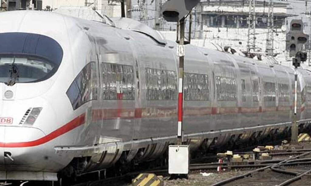 image: Ulykkesfrykt skaper togkaos i Tyskland