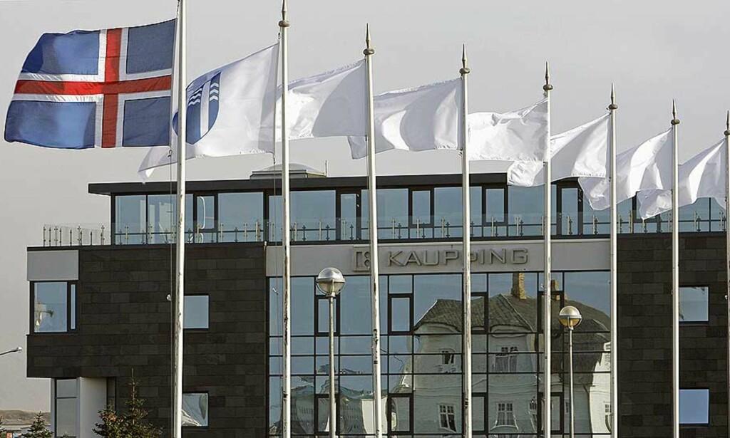 FÅR LÅN:  Hardt rammede Island får lån av Storbritannia. Norge har også innledet samtaler om mulig norsk hjelp. Foto: REUTERS/Bob Strong