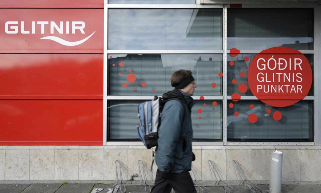SLITER: Islandske Glitnir er satt under offentlig administrasjon. Nå beskylder norske Eksportfinans Islands tredje største bank for gigantsvindel. Foto: OLIVIER MORIN/AFP