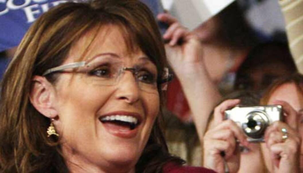 Palin trodde hun snakket med Sarkozy